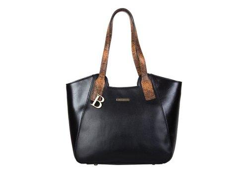 Shopper Fleur (zwart)