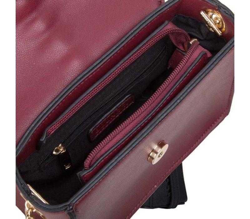 Crossbody tas Calla (bordeaux rood)