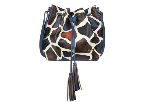 Crossbody bag Giraffe (multi colour)