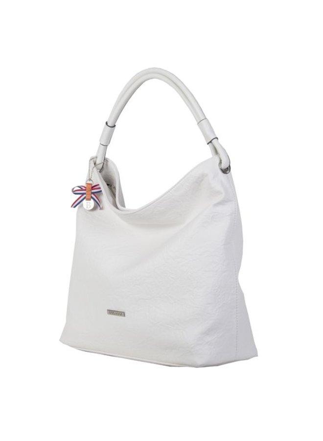 Hobo Shoulder bag Sabrina (white)