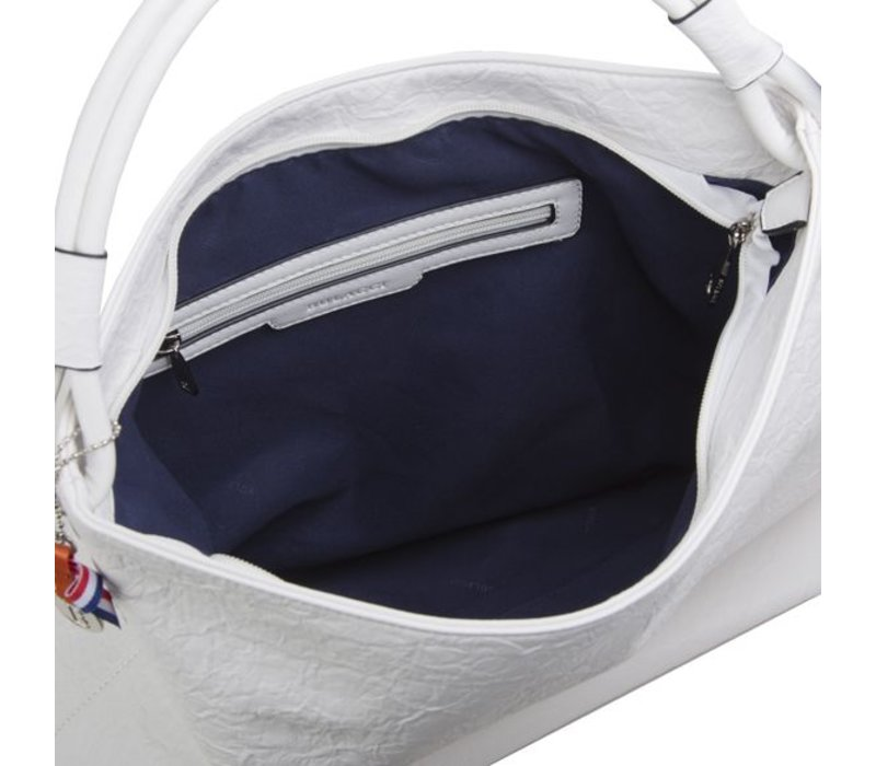 Hobo Shoulder bag Sabrina (white)