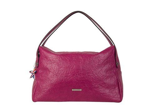 Shoulder bag Sabrina (fuchsia)
