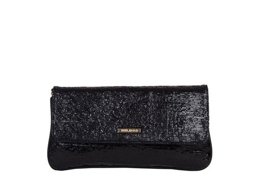 Clutch bag Calla (black)