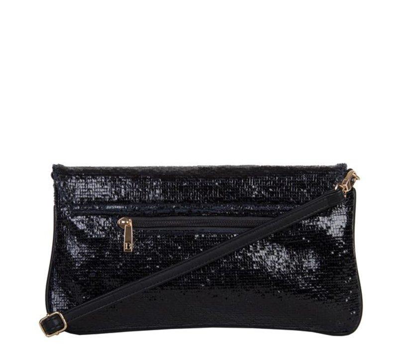 Clutch bag Calla (black)