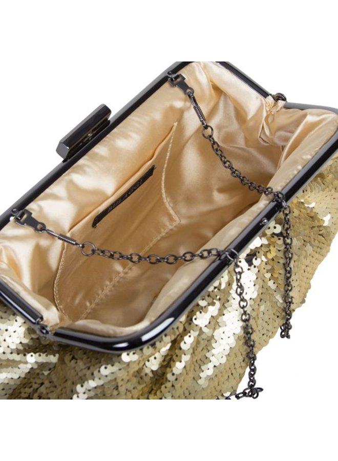 Clutch bag Macy (gold)