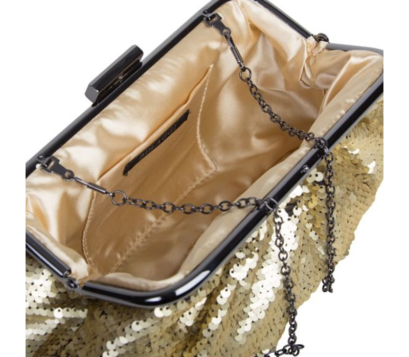 Clutch bag Macy (gold)