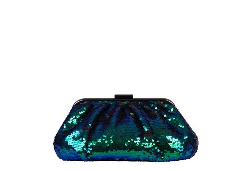 Clutch bag Macy (emerald green)