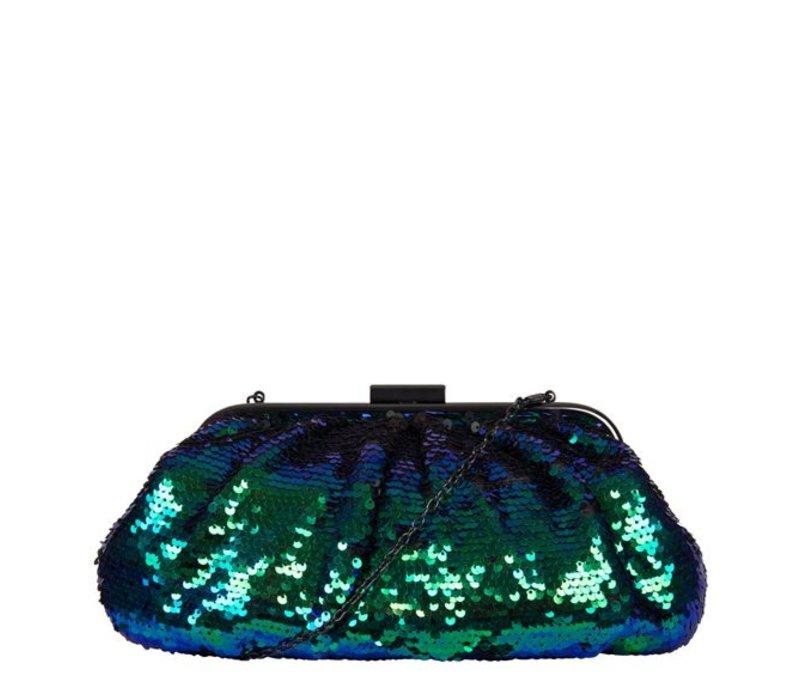 Clutch bag Macy (emerald green)