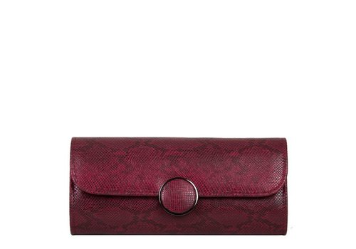 Clutch bag Phoebe (burgundy red)