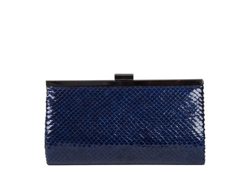 Clutch bag Melody (dark blue )
