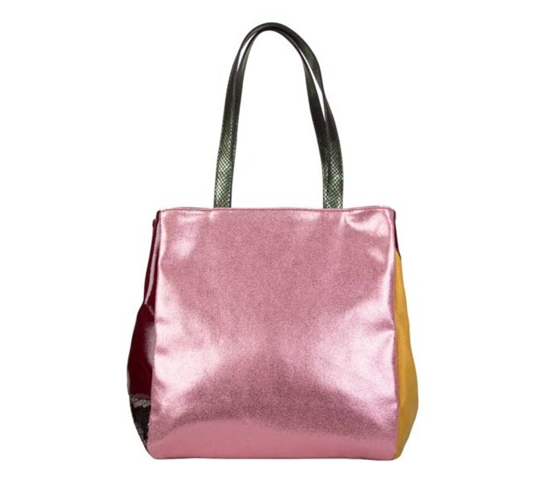 Shopping bag Cassia (red)
