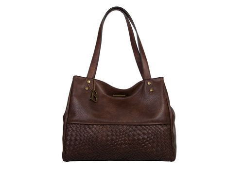 Shopping bag Bryon (dark brown)