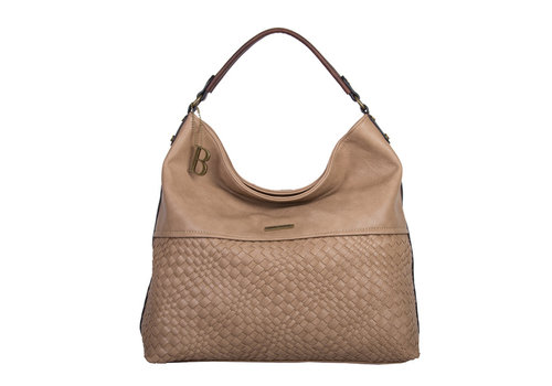 Hobo Shoulder bag Bryon (khaki)