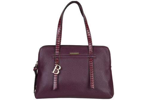 Handbag Senna (burgundy red)
