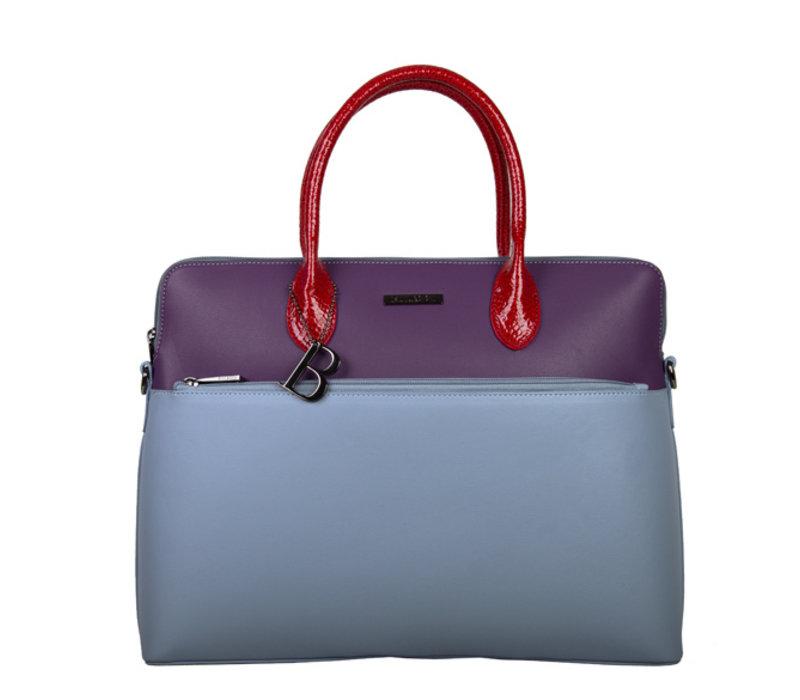 Laptop bag Abby (denim blue)