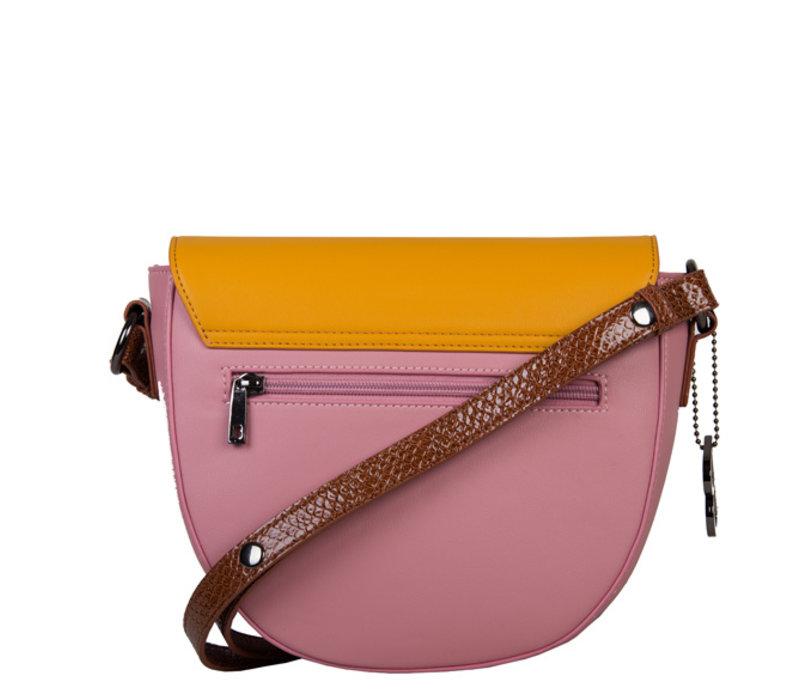 Crossbody tas Abby (oud roze)