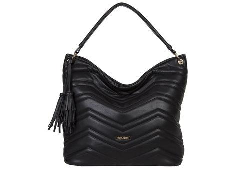 Hobo Shoulder bag Calanthe (black)