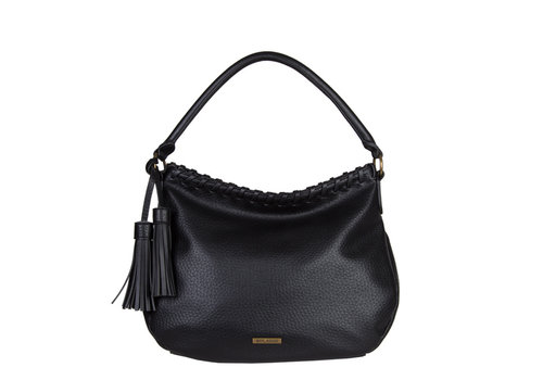 Hobo Shoulder bag Freesia (black)