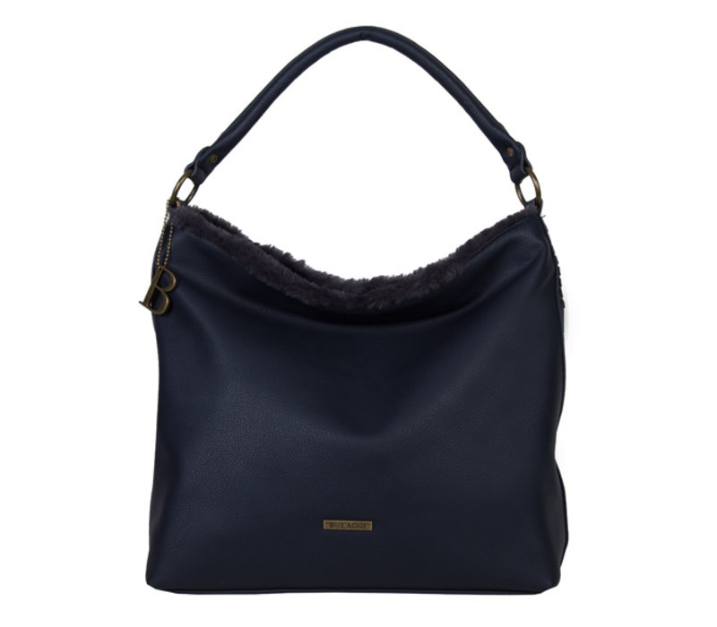 Hobo Shoulder bag Jacinta (dark blue )
