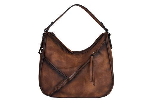 Hobo Shoulder bag Lotus (brown)