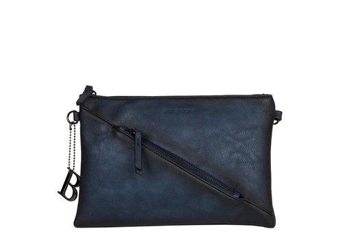Crossbody bag Lotus (dark blue )