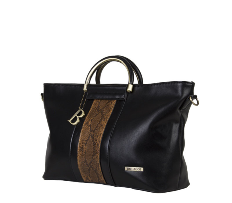 Handtas Fleur (zwart)