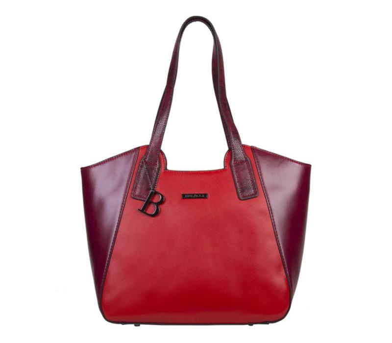 Shopper Fleur (rood)