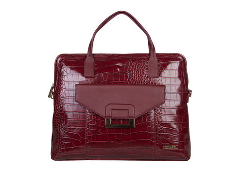 Laptop bag Cynthia (burgundy red)