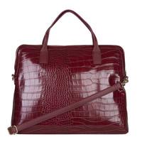 Laptop bag Cynthia (burgundy red)