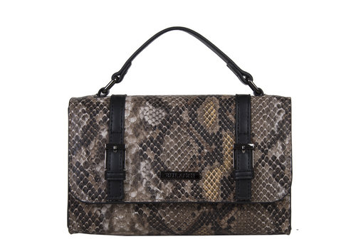 Crossbody bag Snake (khaki)