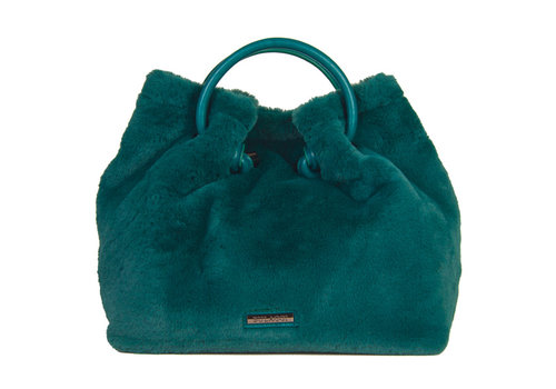 Handbag Viola (emerald green)