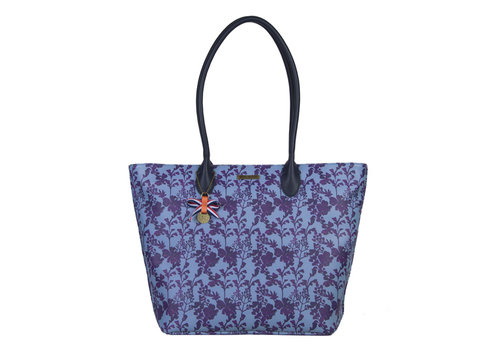 Shopping bag Marcella (denim blue)