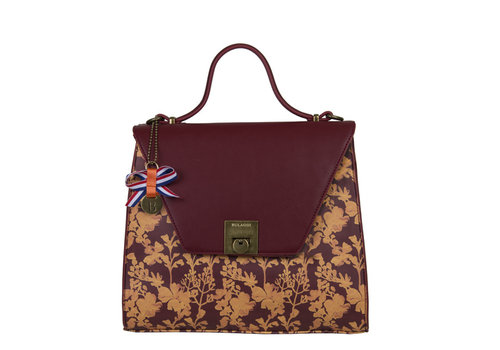Handbag Marcella (burgundy)