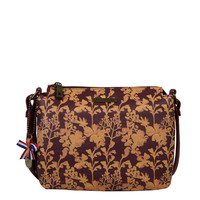 Cross body bag Marcella (burgundy)