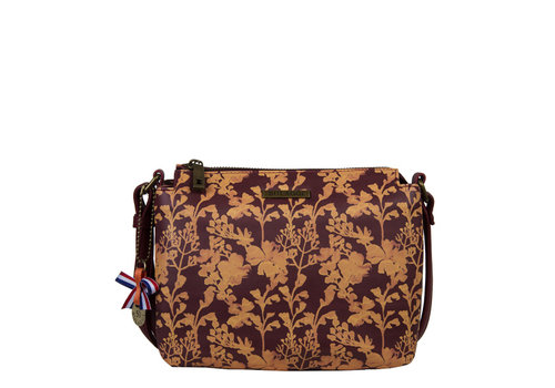 Crossbody tas Marcella (bordeaux)