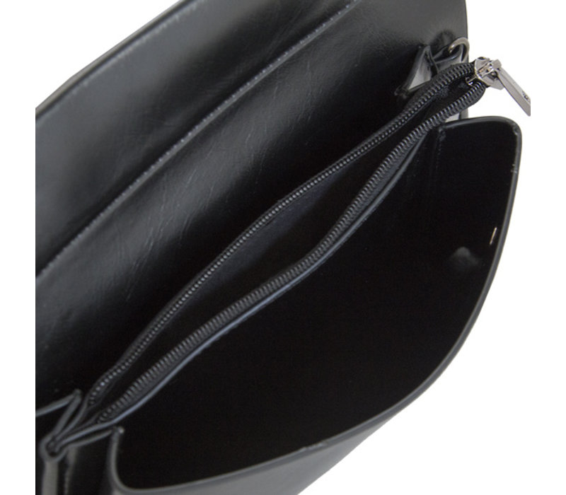 Clutch bag Mirjam (black)
