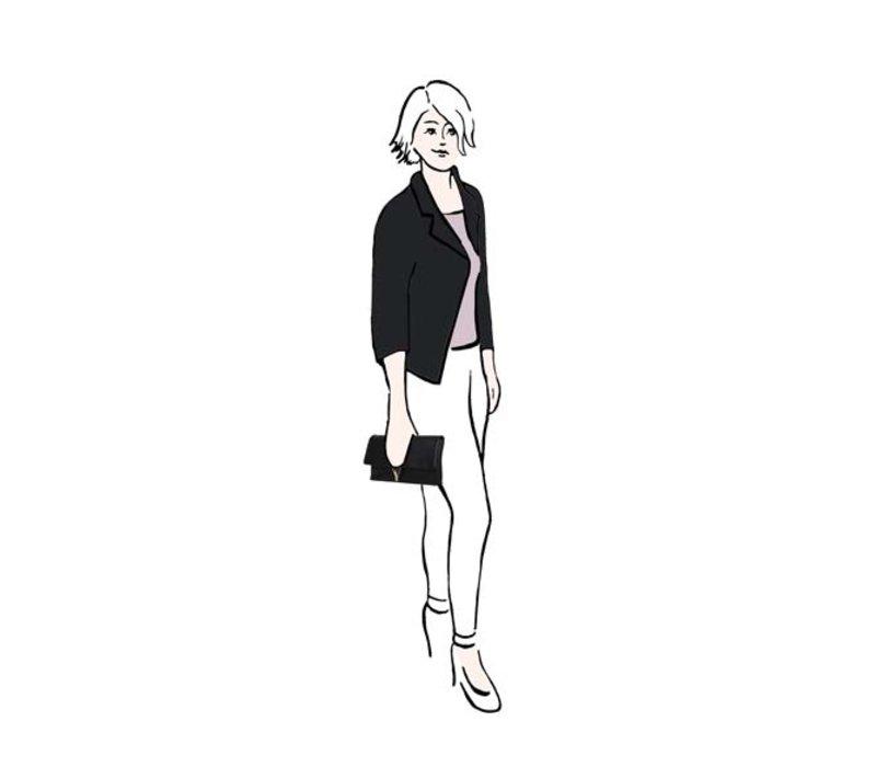 Clutch Bibis (zwart)