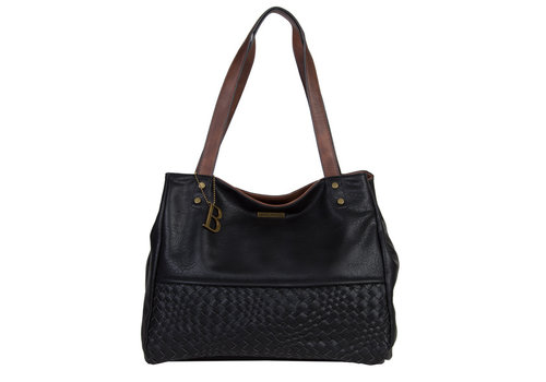 Shopping bag Bryon (black)