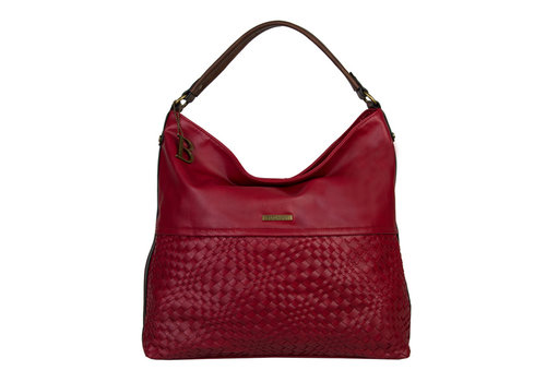 Hobo Shoulder bag Bryon (red)