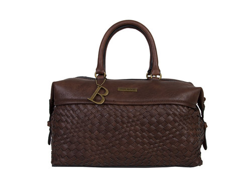 Handbag Bryon (dark brown)