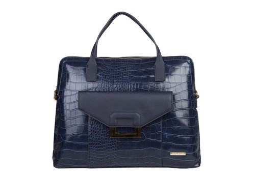 Laptop bag Cynthia (dark blue )