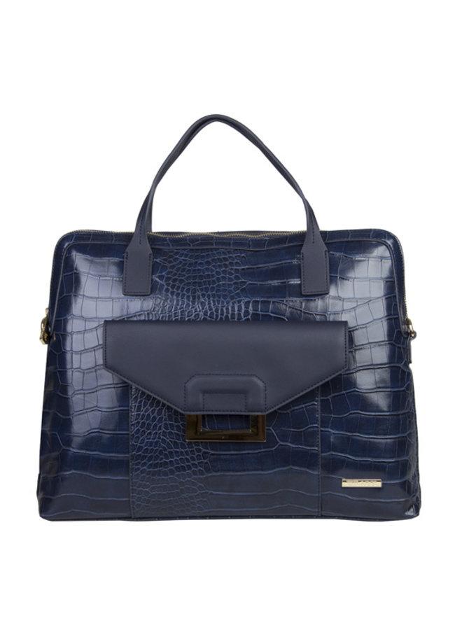 Laptop bag Cynthia (dark blue )