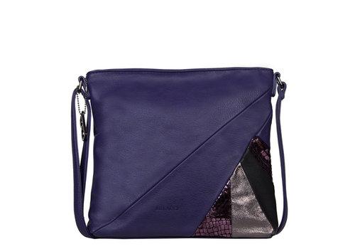 Crossbody bag Flora (dark purple)