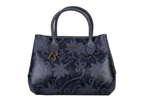 Handbag Rose (dark blue )