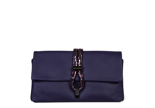 Clutch bag Bibis (dark purple)