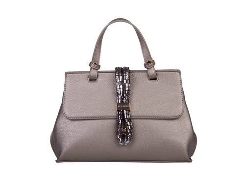 Handbag Bibis (pewter)