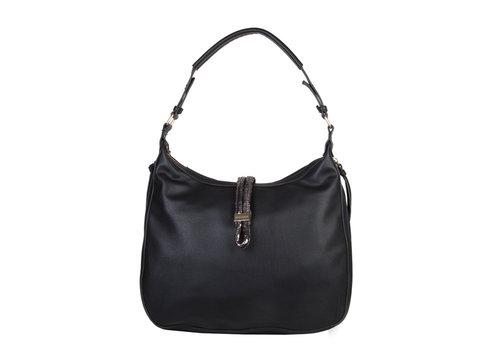 Hobo Shoulder bag Bibis (black)