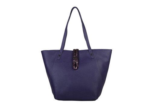 Hobo Shoulder bag Bibis (dark purple)