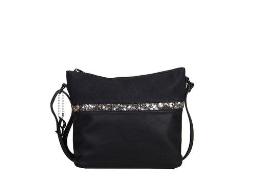 Crossbody bag Zinnia (black)