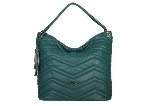 Hobo schoudertas Calanthe (smaragd groen)
